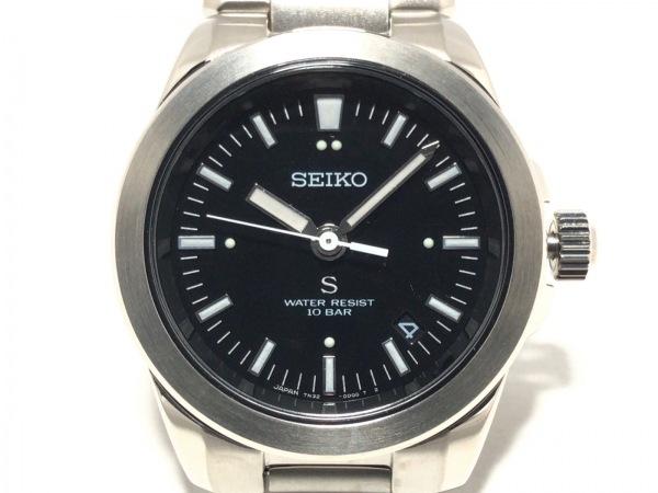 SEIKO(セイコー) 腕時計 7N32-0B70 メンズ 黒