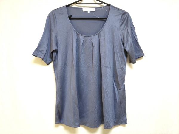 自由区/jiyuku(ジユウク) 半袖カットソー サイズ38 M レディース美品  ブルー