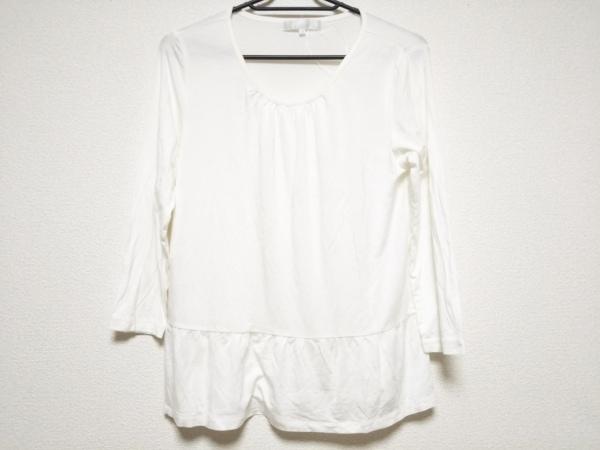 自由区/jiyuku(ジユウク) 七分袖カットソー サイズ38 M レディース美品  白