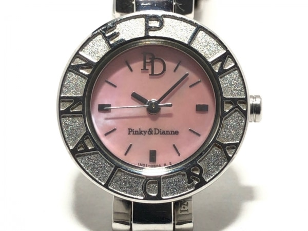 Pinky&Dianne(ピンキー&ダイアン) 腕時計 1N01-0JL0 レディース シェルピンク