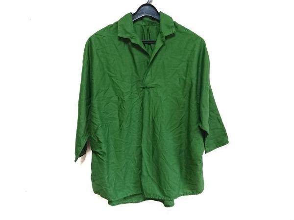 KAPITAL(キャピタル) 七分袖シャツブラウス サイズ1 S レディース グリーン