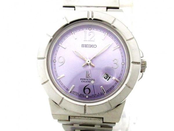 SEIKO(セイコー) 腕時計 ルキア 4F32-0130 レディース パープル