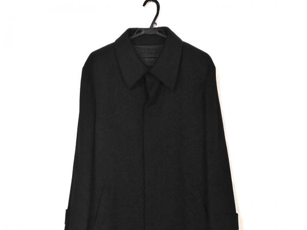 monsieur NICOLE(ムッシュニコル) コート サイズ48 XL メンズ美品  黒 冬物