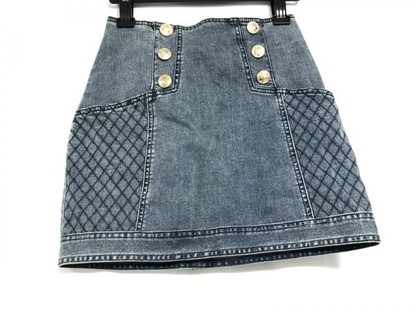 Emiria Wiz(エミリアウィズ) ミニスカート サイズS レディース美品  ネイビー デニム
