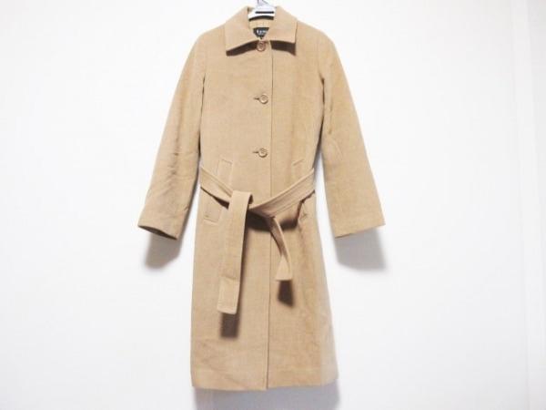 M-PREMIER(エムプルミエ) コート サイズ36 S レディース ブラウン 肩パッド/冬物