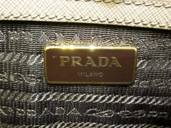 PRADA(プラダ) ハンドバッグ - BN1874 ダークグレー レザー(サフィアーノリュクス)