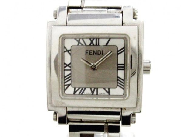 FENDI(フェンディ) 腕時計 6000L レディース シルバー