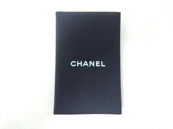 CHANEL(シャネル) ミラー美品  黒×白 PVC(塩化ビニール)