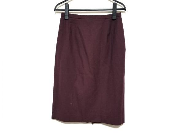 Burberry's(バーバリーズ) スカート サイズ42 L レディース美品  ボルドー
