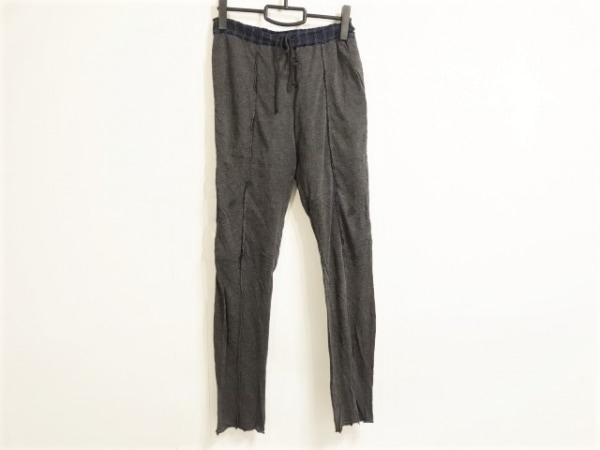 Sacai(サカイ) パンツ サイズ1 S レディース ダークグレー×ダークネイビー