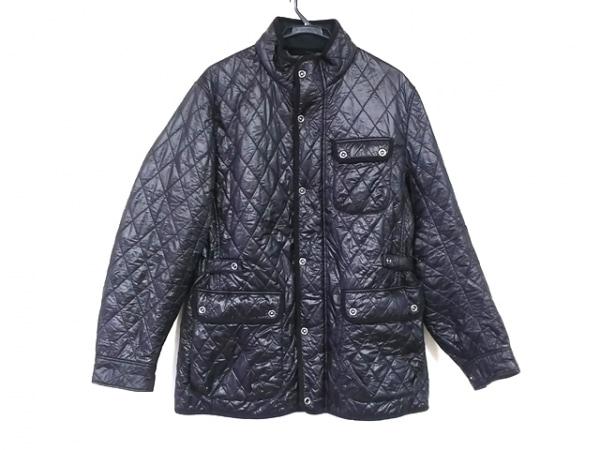 JOSEPHABBOUD(ジョセフアブード) コート サイズLL メンズ美品  黒 キルティング/冬物