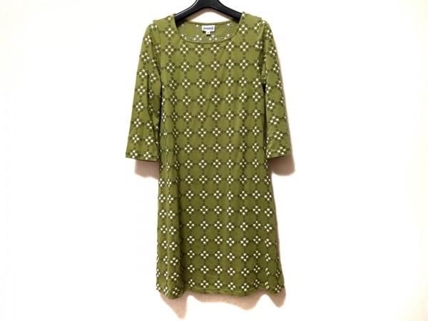 JOCOMOMOLA(ホコモモラ) ワンピース サイズ40 XL レディース 刺繍
