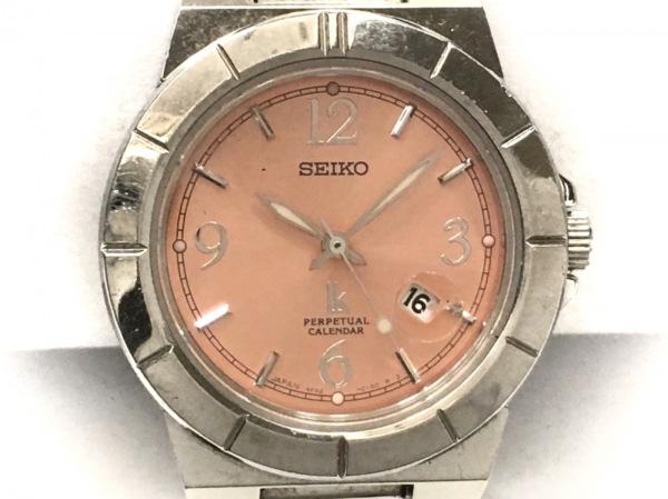 SEIKO(セイコー) 腕時計 ルキア 4F32-0130 レディース ピンク