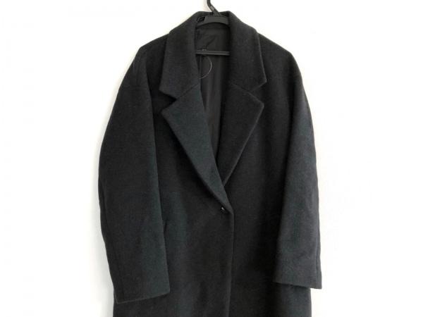 ICB(アイシービー) コート サイズ11 M レディース美品  ダークグレー 冬物/ロング丈
