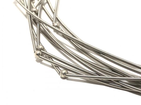 GIORGIOARMANI(ジョルジオアルマーニ) ネックレス 金属素材 シルバー
