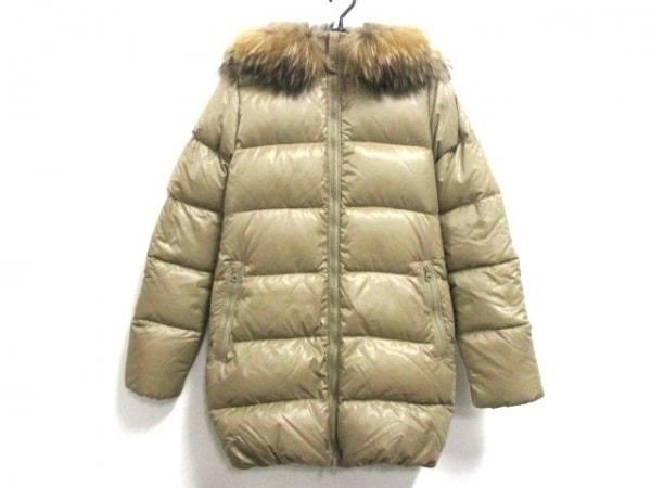 デュベティカ ダウンコート サイズ40 M レディース美品  Kappa ベージュ 冬物