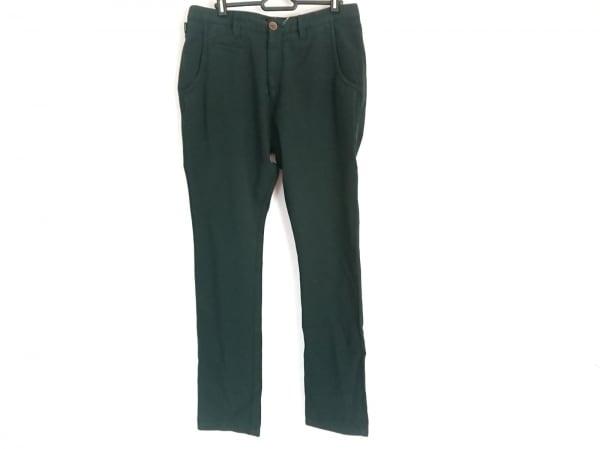 ARMANICOLLEZIONI(アルマーニコレッツォーニ) パンツ サイズ48 M メンズ 黒×グリーン