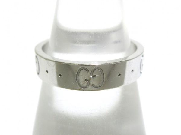 GUCCI(グッチ) リング 8 アイコンリング K18WG