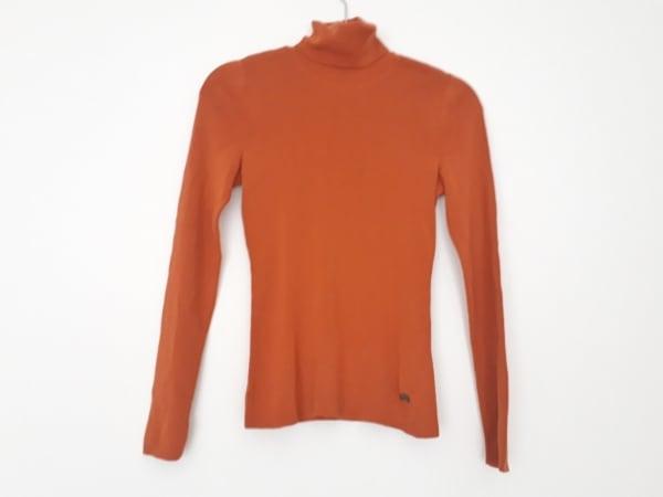 FOXEY(フォクシー) 長袖セーター サイズ40 M レディース ブラウン タートルネック