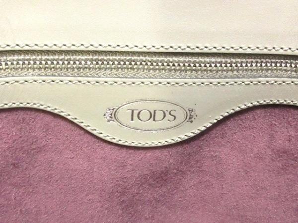TOD'S(トッズ) トートバッグ美品  ダークグレー レザー