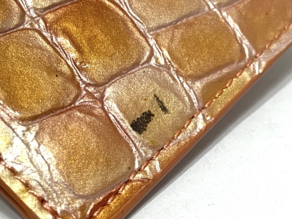 コッコフィオーレ パスケース オレンジ エナメル(レザー) 5