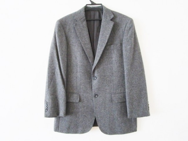 Burberry LONDON(バーバリーロンドン) ジャケット メンズ グレー 肩パッド/カシミヤ