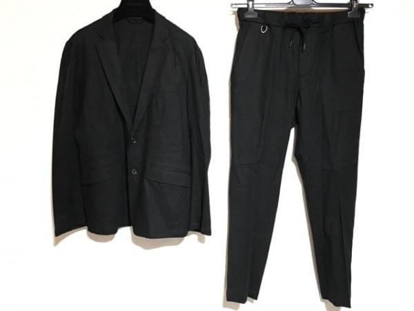nano universe(ナノユニバース) シングルスーツ サイズM メンズ 黒