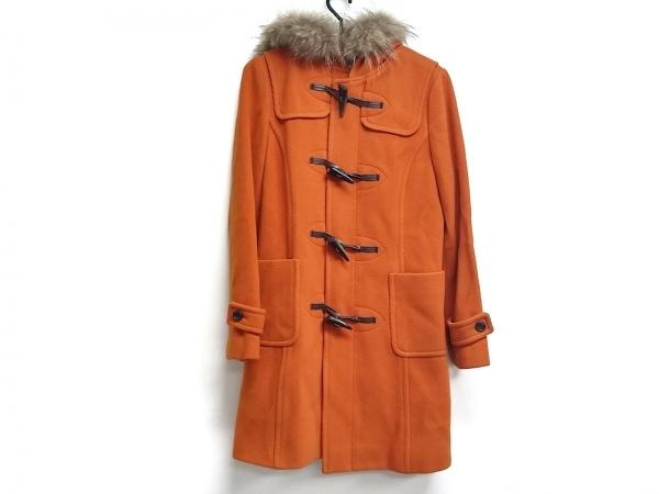 Aylesbury(アリスバーリー) ダッフルコート サイズ9 M レディース オレンジ 冬物