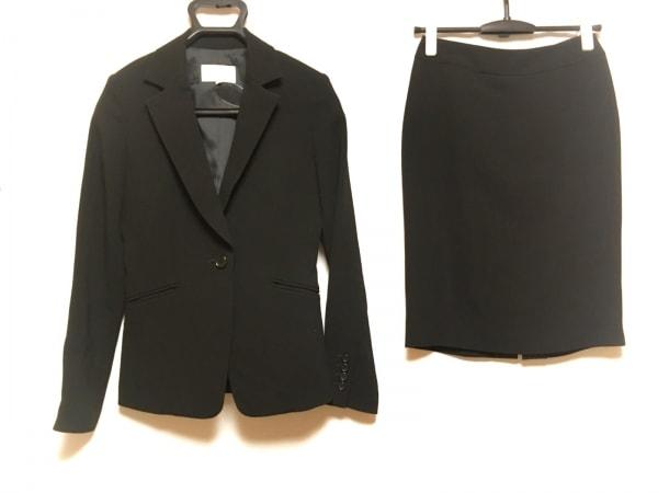 M-PREMIER(エムプルミエ) スカートスーツ サイズ36 S レディース 黒