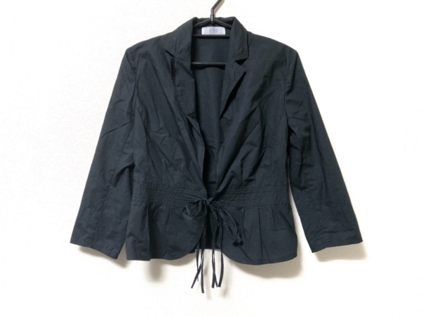 J.PRESS(ジェイプレス) ジャケット レディース 黒 リボン