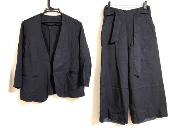ミラオーウェン レディースパンツスーツ サイズ0 XS レディース美品  ダークネイビー