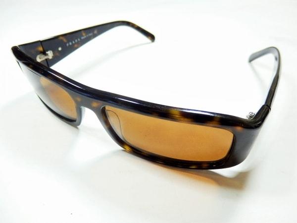 PRADA(プラダ) サングラス SPR02E ダークブラウン×シルバー プラスチック×金属素材