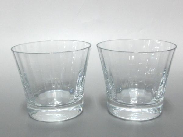 Baccarat(バカラ) ペアグラス新品同様  - クリア クリスタルガラス 1