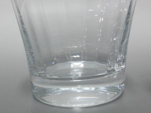 Baccarat(バカラ) ペアグラス新品同様  - クリア クリスタルガラス 4