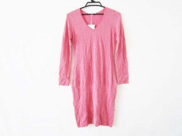 ピンキー&ダイアン ワンピース サイズ38 M レディース美品  ピンク ニット/ラメ