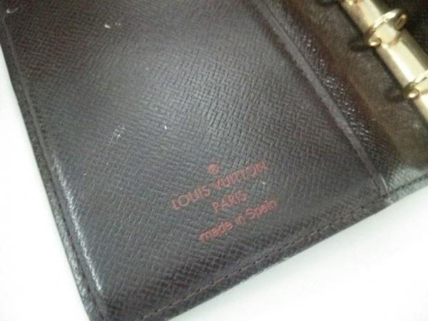 ルイヴィトン 手帳 ダミエ アジェンダPM R20700 エベヌ 4