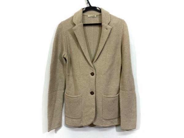 lardini(ラルディーニ) ジャケット サイズ36 S レディース美品  ベージュ ニット