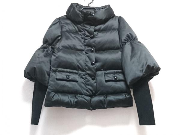 TO BE CHIC(トゥービーシック) ダウンジャケット サイズ40 M レディース 黒 冬物