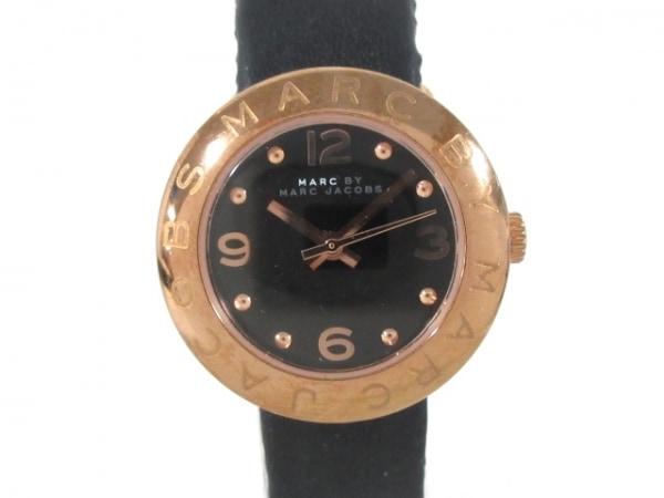 MARC BY MARC JACOBS(マークジェイコブス) 腕時計 MBM1227 レディース 革ベルト 黒