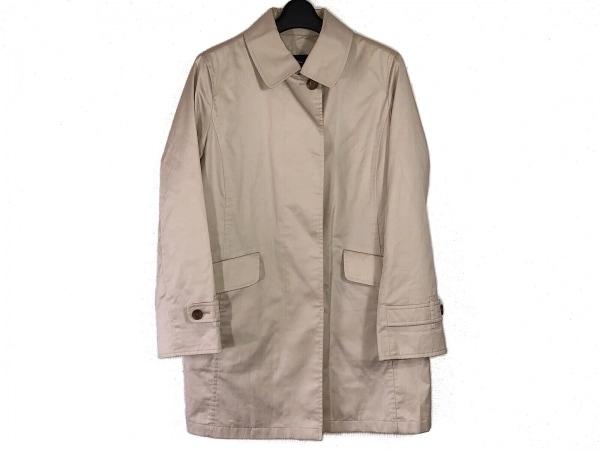 バーバリーロンドン コート サイズ9 M レディース アイボリー 春・秋物