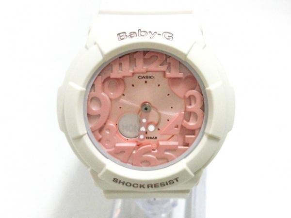 CASIO(カシオ) 腕時計美品  BGA-131 レディース ラバーベルト ピンク