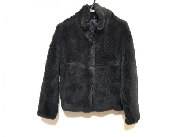 MACPHEE(マカフィ) ブルゾン サイズ36 S レディース美品  黒 冬物