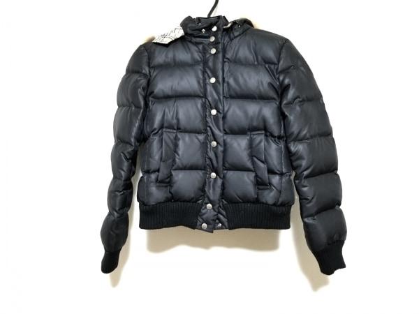 バーバリーブルーレーベル ダウンジャケット サイズ38 M レディース 黒 冬物