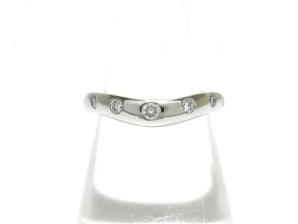BVLGARI(ブルガリ) リング美品  フェディ Pt950×ダイヤモンド 7Pダイヤ