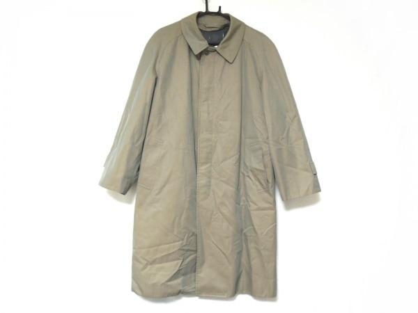 DURBAN(ダーバン) コート メンズ グレー ネーム刺繍