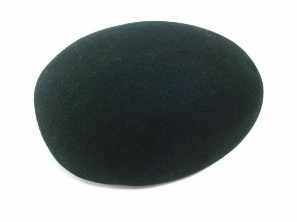NINARICCI(ニナリッチ) 帽子 S~M美品  黒 ウール