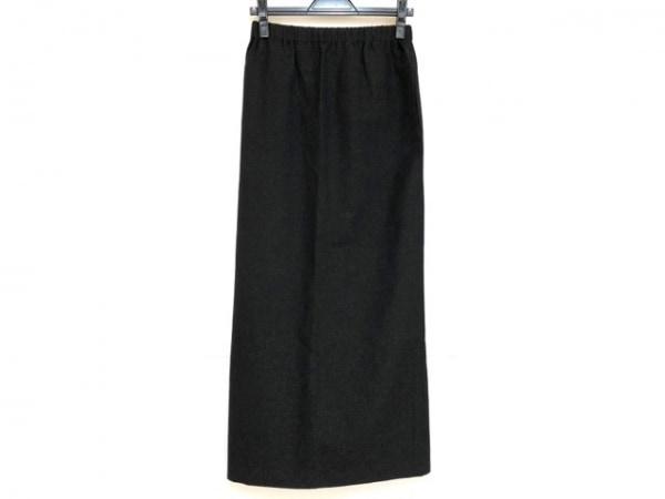 COMMEdesGARCONS(コムデギャルソン) ロングスカート サイズS レディース美品  黒 ラメ