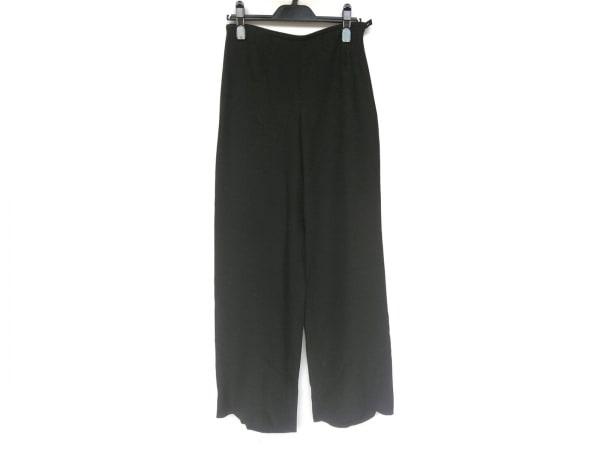 アルマーニコレッツォーニ パンツ サイズ40 M レディース新品同様  黒