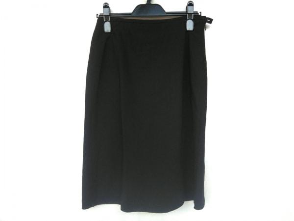 アルマーニコレッツォーニ スカート サイズ40 M レディース新品同様  黒