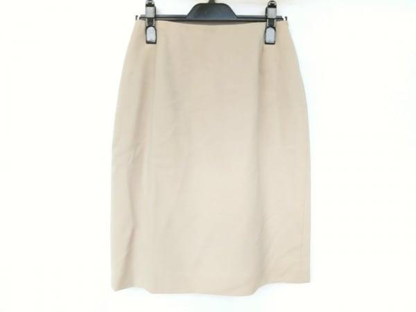 マックスマーラ スカート サイズ42 M レディース新品同様  ベージュ スリット